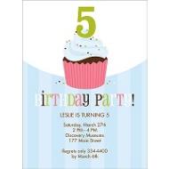 Sweet Sprinkles Pink Birthday Invitation