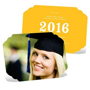 Perfect Presentation Photo -- Graduation Announcements