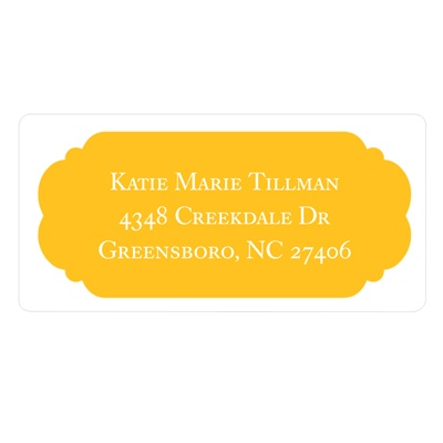 Perfect Presentation Graduation Address Labels