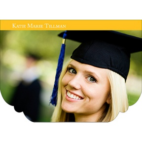 Perfect Presentation -- Graduation Thank You Cards
