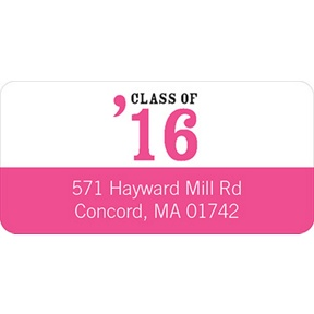 Class Act -- Graduation Address Labels