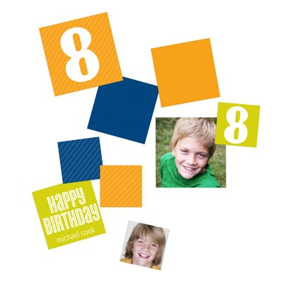 Big Numbers Bold Kids Party Decorations