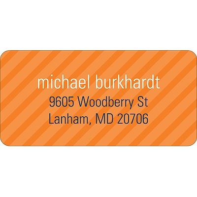 Simple Stripes Boy Address Label