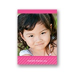 All About the Birthday Girl -- Thank You Card