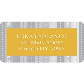 Linear Label -- Graduation Address Labels