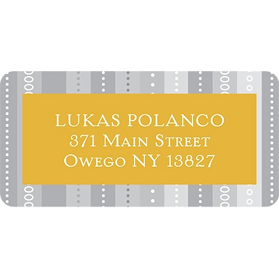 Linear Label Graduation Address Labels