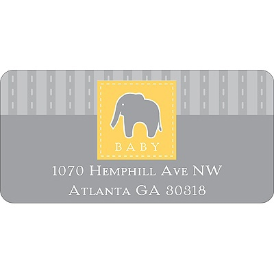 Stamp of Approval -- Address Label