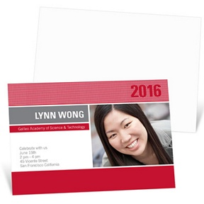 Bright Lights -- Graduation Announcements