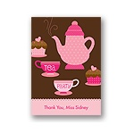 Tea Time -- Thank You Card