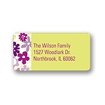 Petal Patches -- Address Labels