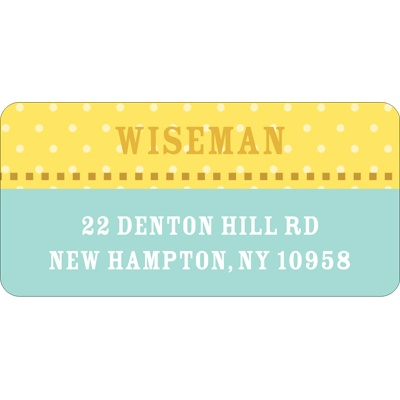 Simple Dots -- Address Labels