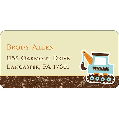 Big Dig Address Label