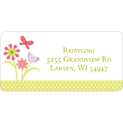 Spring Has Sprung -- Address Labels