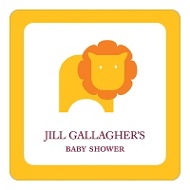 Little Lion Baby Shower Favor Stickers