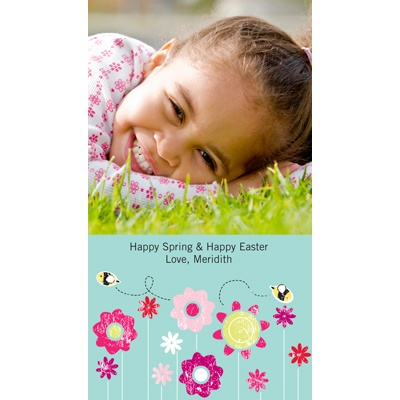 Buzzzzzing with Joy -- Easter Photo Cards