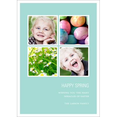 Spring Fever Easter Photo Cards