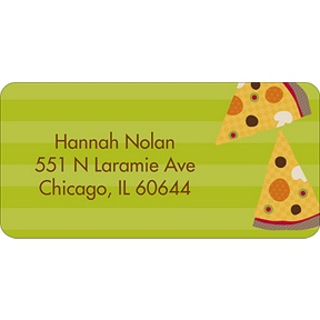 Slice of the Party -- Address Label