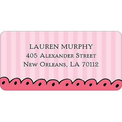 Makeover Address Label