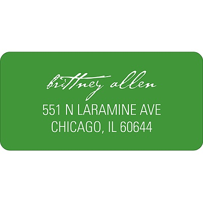 Simply Inviting -- Wedding Address Label