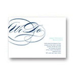 Flowing Embrace -- Elegant Wedding Invitation
