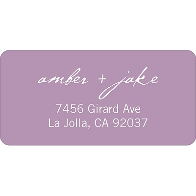 Picture This Wedding Address Label