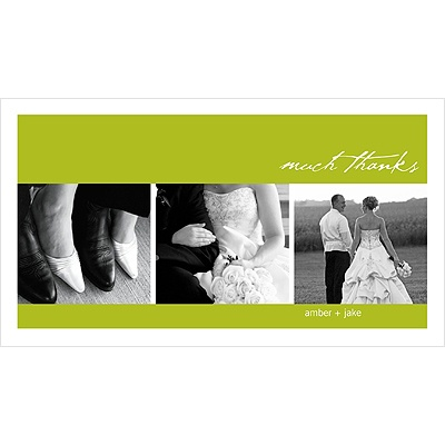 Picture This Photo Wedding Thank You Card