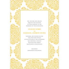 Detailed Day -- Formal Wedding Invitation