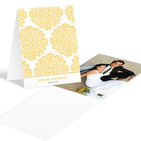 Detailed Day -- Wedding Photo Thank You Card
