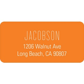 Lovely Lines -- Wedding Address Label