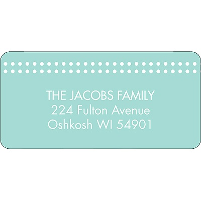 The Little Things -- Address Label