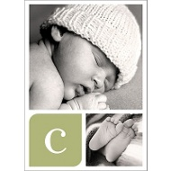 Baby Blocks Baby Thank You Cards