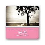 Simply Sophisticated -- Wedding Favor Stickers