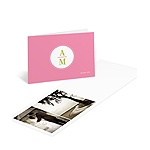 Classic Impression -- Wedding Photo Thank You Card