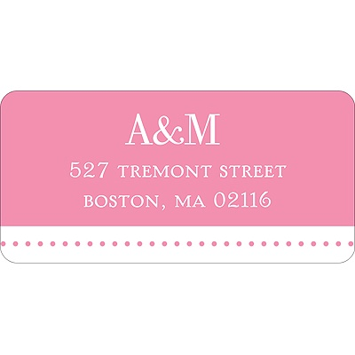 Simply Sophisticated -- Wedding Address Label