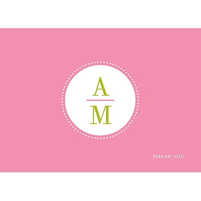Simply Sophisticated -- Thank You Card