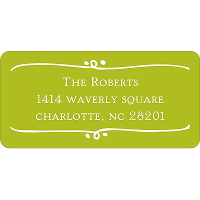 Framed with Love Baby Address Labels