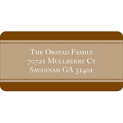Named in Love -- Address Label