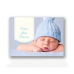 Bundle of Blue -- Baby Thank You Card