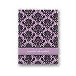 Damask Vision -- Baby Girl Thank You Card