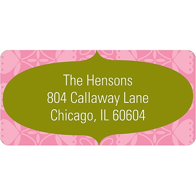 Home Sweet Home -- Address Label