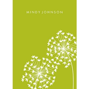 Make a Wish -- Personalized Note Cards