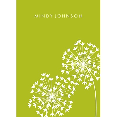 Make a Wish Personalized Note Cards