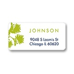 Wild Flowers -- Address Label
