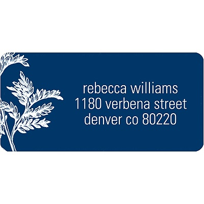 Leaves Address Label
