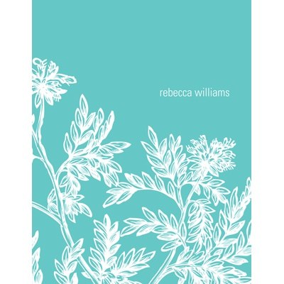 Leaves Personalized Note Card