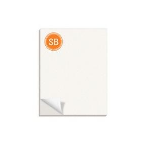 Lightly Striped -- Custom Notepads