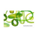 Organic Mix in Green -- Personalized Note Card