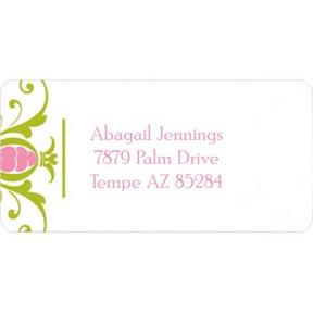 Royal Book Ends -- Address Label