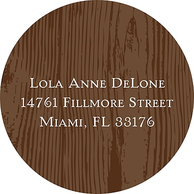 Engraved Distinction -- Address Label