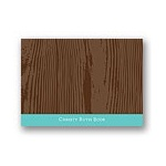 Engraved Distinction -- Personalized Note Card